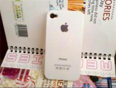 貼鉆素材殼 iphone 4s 保護套 A級燙金手機殼白色