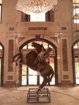 供应天津环亚国际马球俱乐部雕塑