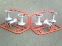 专业生产 淄博两轮转角电缆滑轮 大直径电缆滑车