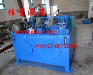 厂家专业设计机床液压系统/液压泵站图片