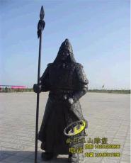 鄂尔多斯雕塑蒙古骑士铸铜雕塑加工