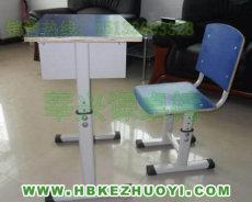 河北莘興課桌椅廠供應橢圓管拆裝式升降課桌椅