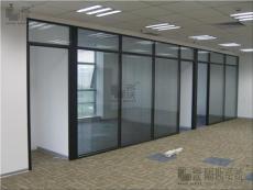 西安玻璃隔斷西安成品玻璃隔斷墻西安雙玻百葉