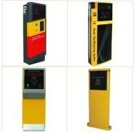 杭州停車場收費系統收費票箱優質票型 中遠距離票箱安裝