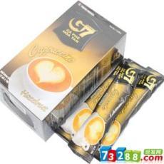 冲饮品供应商 中原G7卡布奇诺 咖啡 榛子味