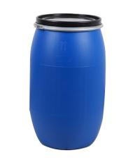 120L法蘭桶-廈門化工桶-藍色化工桶
