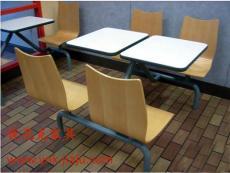 深圳快餐廳桌椅廠家 肯德基桌椅的生產廠家 連體快餐桌椅