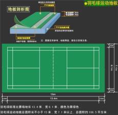 杭州羽毛球場塑膠地板卷材杭州羽毛球場專用運動地板