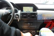 蘇州雅音奔馳GLK300加裝導航 改裝智能倒車軌跡