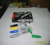 三福银色记号笔 银色三福油性笔 环保记号笔