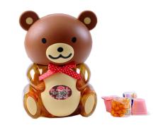 桶装优酪果冻 棕色熊