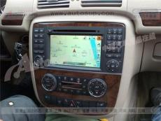蘇州奔馳R300安裝導航 R300升級dvd R300改裝導航
