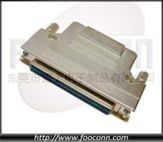 SCSI連接器 HPCN 50P 68P母頭 鐵殼彈片式 HPCN連接器