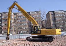 加長臂 清淤加長臂 三段式拆樓臂 22米挖掘機加長臂