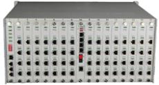賽康通信256路電話光端機